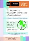 XV Jornadas de Vinculación Tecnológica y Sustentabilidad